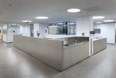 Interior de uma emergência do hospital Imagem de Stock