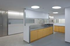 Interior de uma emergência do hospital Foto de Stock