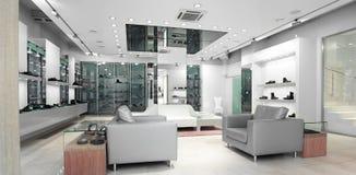 Interior de uma loja fotografia de stock royalty free