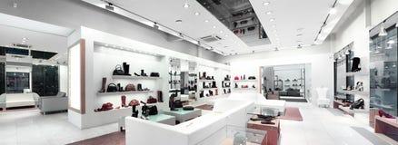 interior de uma loja Imagens de Stock