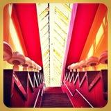 Interior de uma ponte da tampa de Bogdan Khmelnitsky Imagens de Stock