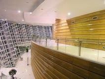 Interior de uma sala de concertos Foto de Stock Royalty Free