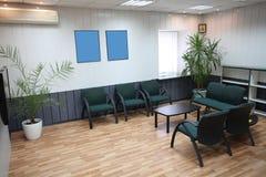 Interior de uma sala de espera Imagens de Stock Royalty Free
