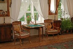 Interior de uma sala de estar Foto de Stock