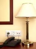 Interior de un apartamento del hotel fotografía de archivo