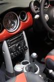 Interior de un coche Imágenes de archivo libres de regalías