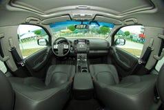 Interior de un coche moderno Fotos de archivo