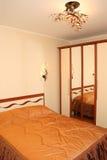 Interior de un cuarto durmiente Fotografía de archivo libre de regalías