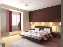 Interior de un dormitorio libre illustration