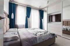 Interior de un dormitorio Imagen de archivo libre de regalías