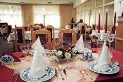 Interior de un restaurante fotografía de archivo