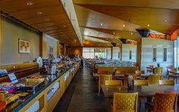 Interior de un restaurante de la comida fría Imagen de archivo