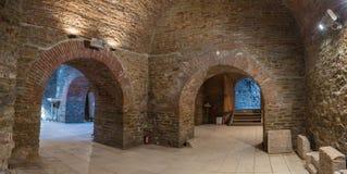 Interior de un sótano Fotos de archivo libres de regalías