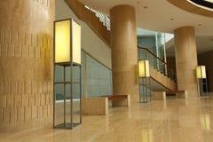 Interior de una China moderna del museo Imágenes de archivo libres de regalías