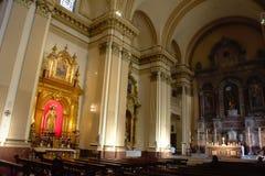 Interior de una iglesia en Sevilla 3 Fotografía de archivo