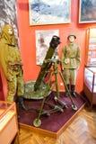Interior de uno de los pasillos de Samara Military History Muse Fotos de archivo libres de regalías