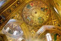 Interior de Vank en Isfahán imagen de archivo libre de regalías