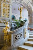 Interior de Vladimir Palace Era el palacio imperial pasado a Fotografía de archivo