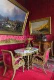Interior de Vladimir Palace Era el palacio imperial pasado a Foto de archivo