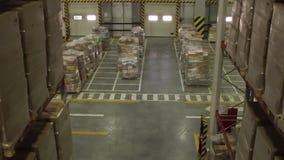 Interior de Warehouse de distribución metrajes