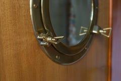 Interior de Yaht imagens de stock royalty free