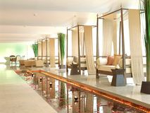 Interior Decoration of Spa. In Thailand Stock Images