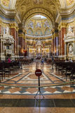The interior decoration of the Basilica of St. Stephen Royalty Free Stock Image