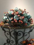 Interior decoration photography, painting, still life, etc.Beautiful flowers. royalty free stock photo