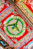 Interior decoration of Wat Pha That Luang in Vientiane, Laos Stock Photos