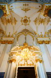 The interior decoration of Winter Palace Royalty Free Stock Photo