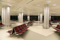 Interior del aeropuerto Fotografía de archivo