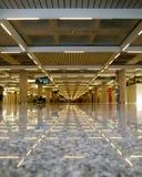 Interior del aeropuerto Imagen de archivo