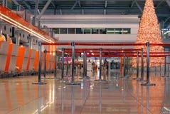 Interior del aeropuerto Foto de archivo