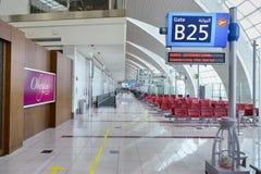Interior del aeropuerto de Dubai International Foto de archivo libre de regalías