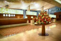 Interior del aeropuerto de Dubai International Imagen de archivo