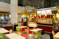Interior del aeropuerto de Kuala Lumpur imagen de archivo libre de regalías
