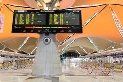 Interior del aeropuerto de Kuala Lumpur fotos de archivo libres de regalías