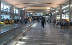 Interior del aeropuerto de Oslo fotos de archivo