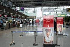 Interior del aeropuerto de Suvarnabhumi Fotos de archivo