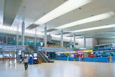 Interior del aeropuerto internacional de Ranh de la leva, Vietnam Imagenes de archivo