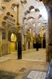 Interior del Alcazar, Córdoba España Fotografía de archivo libre de regalías
