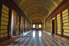 Interior del Archivo DE Indias Sevilla royalty-vrije stock foto's