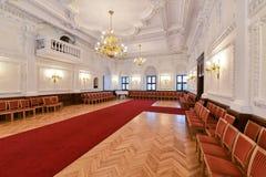 Interior del ayuntamiento Fotos de archivo