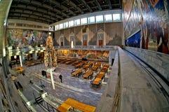 Interior del ayuntamiento de Oslo noruega foto de archivo libre de regalías