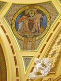 Interior del balneario imagen de archivo