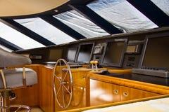 Interior del barco Foto de archivo libre de regalías