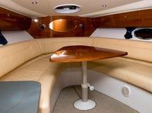 Interior del barco Imagen de archivo libre de regalías