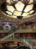 Interior del barco de cruceros Fotos de archivo