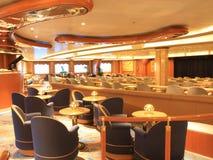 Interior del barco de cruceros Fotos de archivo libres de regalías