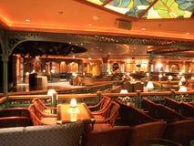 Interior del barco de cruceros Foto de archivo
